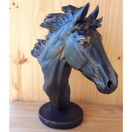 Trophée tête de cheval