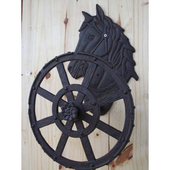 Enrouleur de tuyau avec cheval